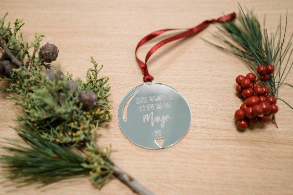 Erstes Weihnachten verheiratet