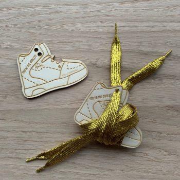 Schuhbänder Metallic Die Macherei