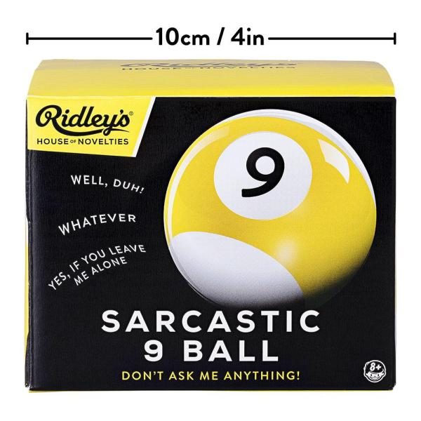 Sarkastischer Magic 9 Ball