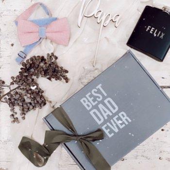 Geschenkbox Vatertag personalisierbar + befuellbar