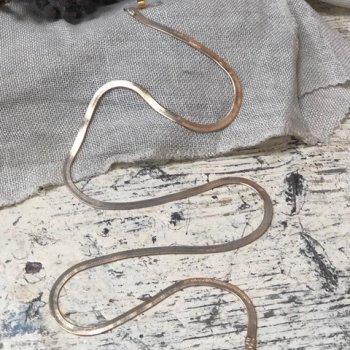 Brillenkette maskenkette Snakechain Gold