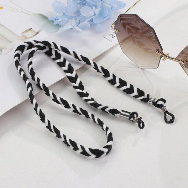 Brillenkette geflochten 3 Farben Die Macherei