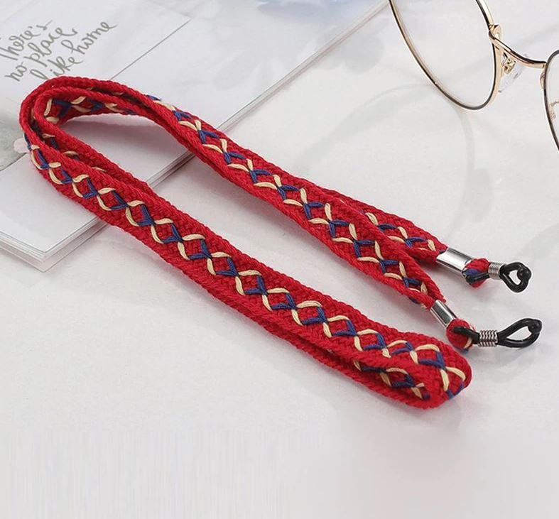 Brillenkette Boho Stitch 2 Farben Die Macherei