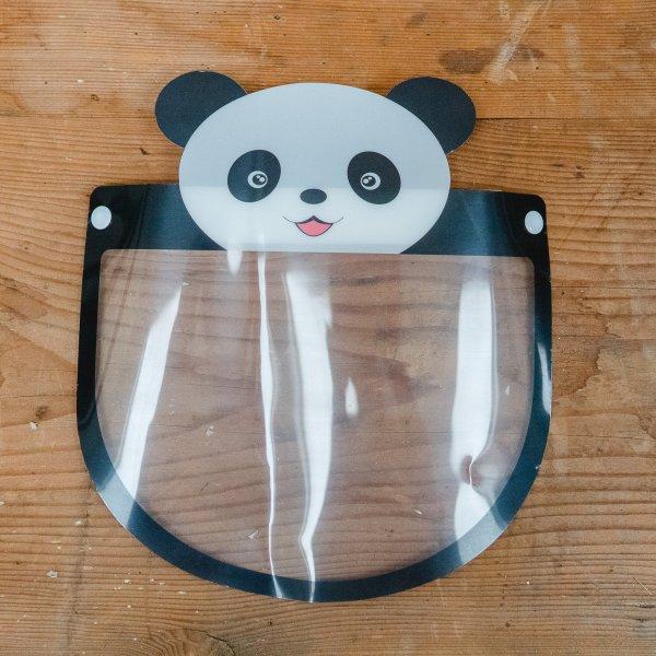 Gesichtsschutz Panda