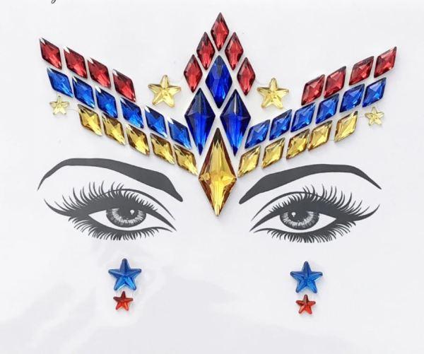 Augen Aufkleber Superwoman