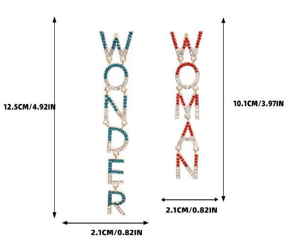 Ohrringe Wonder Woman