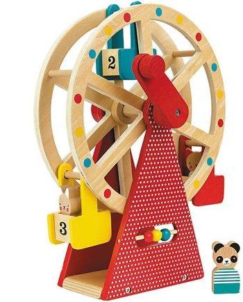 Holz Riesenrad Spieleset
