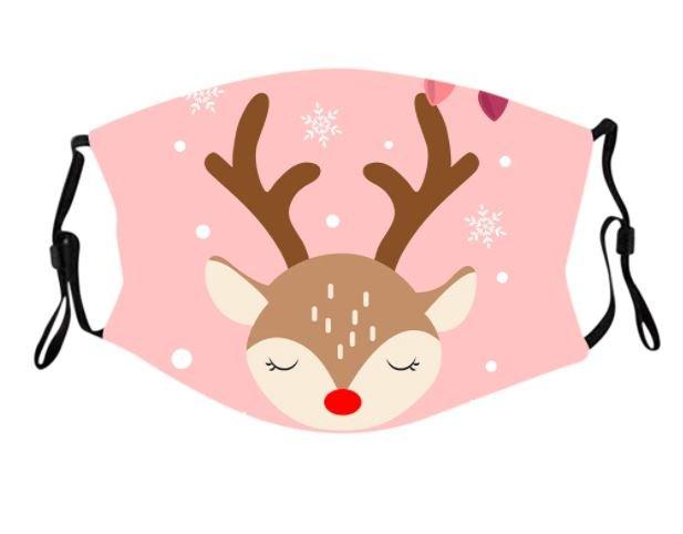 Macherei Mask – Weihnachtsmasken Kids 2 Designs