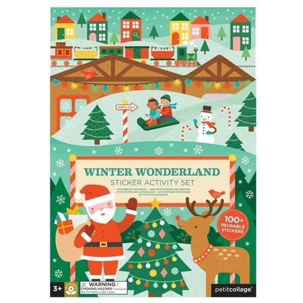 Winter Wonderland Sticker Activity Set