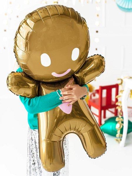 "Folienballon ""Lebkuchenmann"""