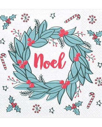 Servietten Noel