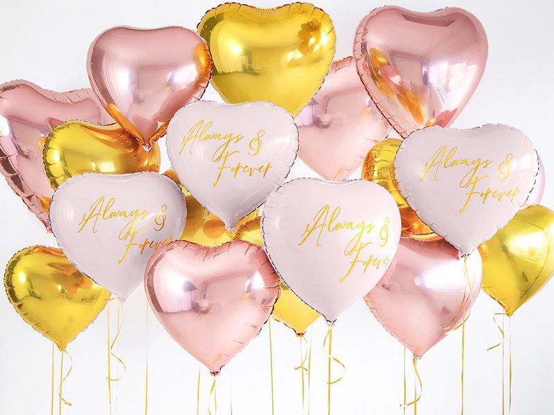 Folienballon Always and Forever