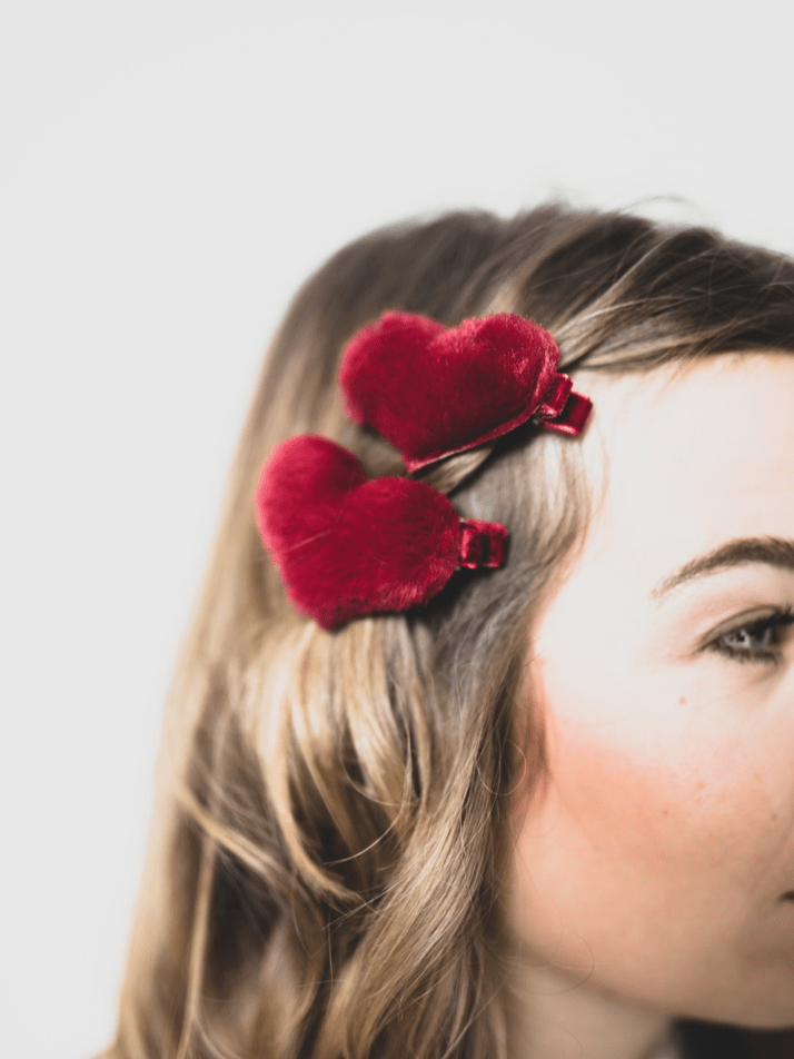 Haarspange Herz