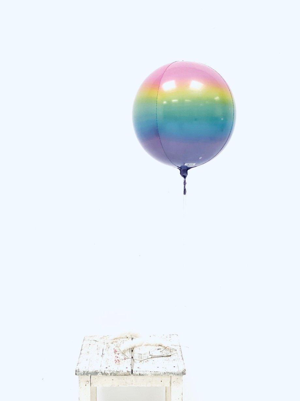 nballon Regenbogen Pastell