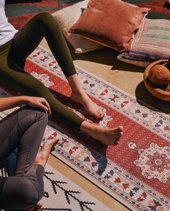 Yogamatte Perserteppich