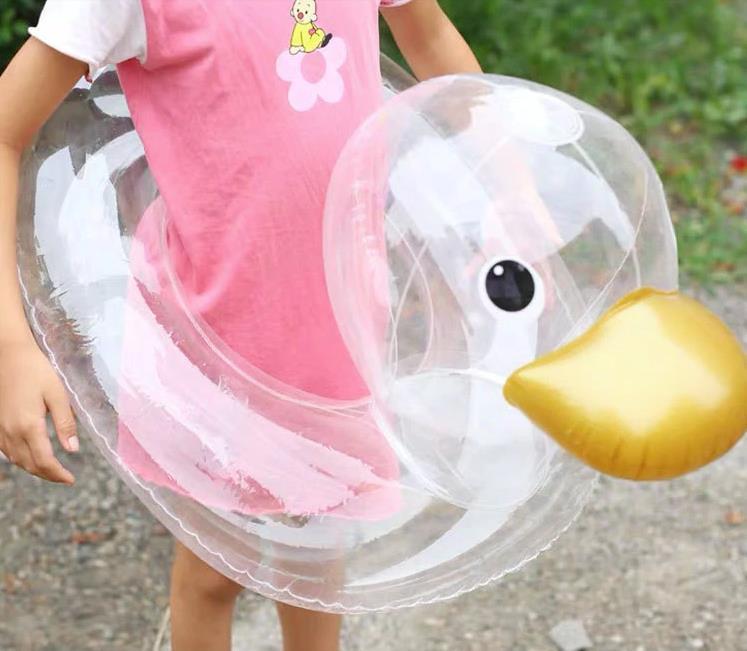 Schwimmreifen Clear Duck