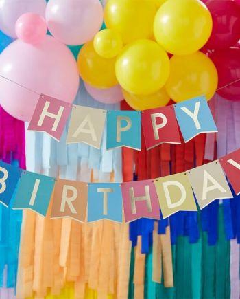 Girlande Happy Birthday
