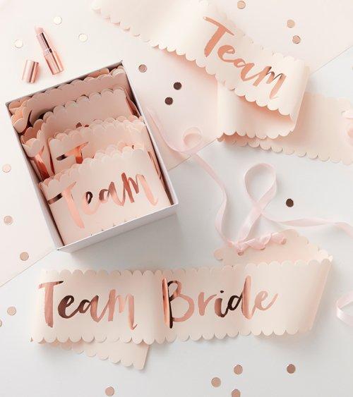Schärpenset Team Bride