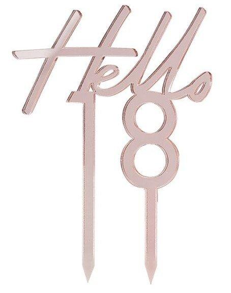 Caketopper Hello 18