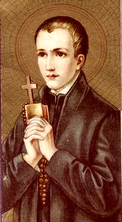 Afbeeldingsresultaat voor heilige jan berchmans