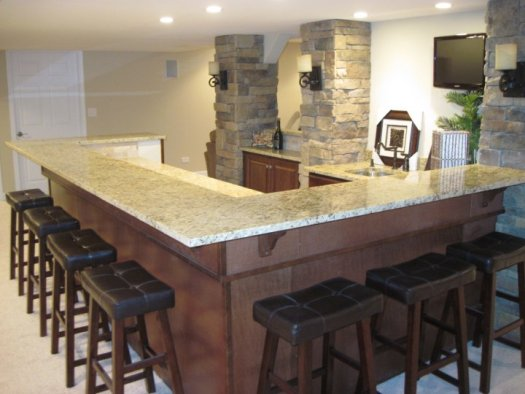 Basement Remodeling Wet Bar