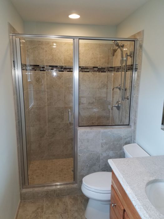 Bathroom Remodeling Glass Shower Downers Grove