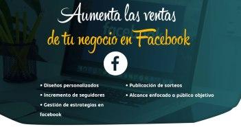 Aumenta las ventas de tu negocio en Facebook