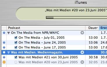 Medienpodcasts
