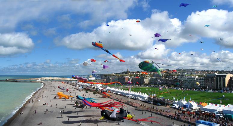 Festival du cerf-volant dieppe