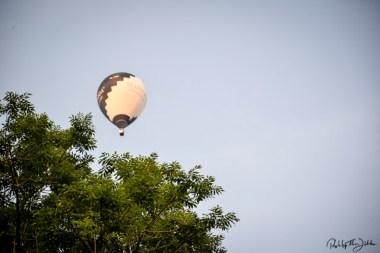 Ballon über Biauford