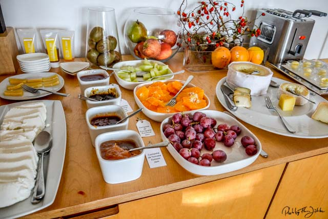 Ein vielseitiges Frühstück. Foto: Flora Jädicke