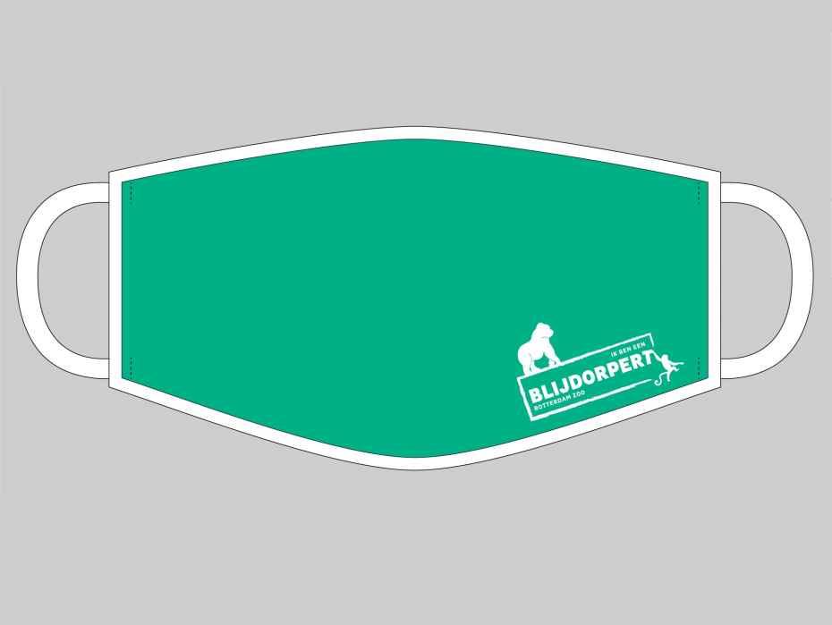 mondkapje met blijdorpert-logo