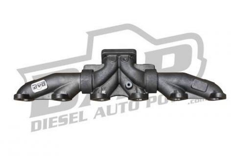 dap assembled 3 piece t4 exhaust manifold pyro tapped with gaskets 12vt4m