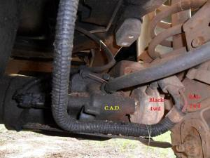 Vacuum lines  4x4 = What the heck?! Help! :{  Diesel Bombers