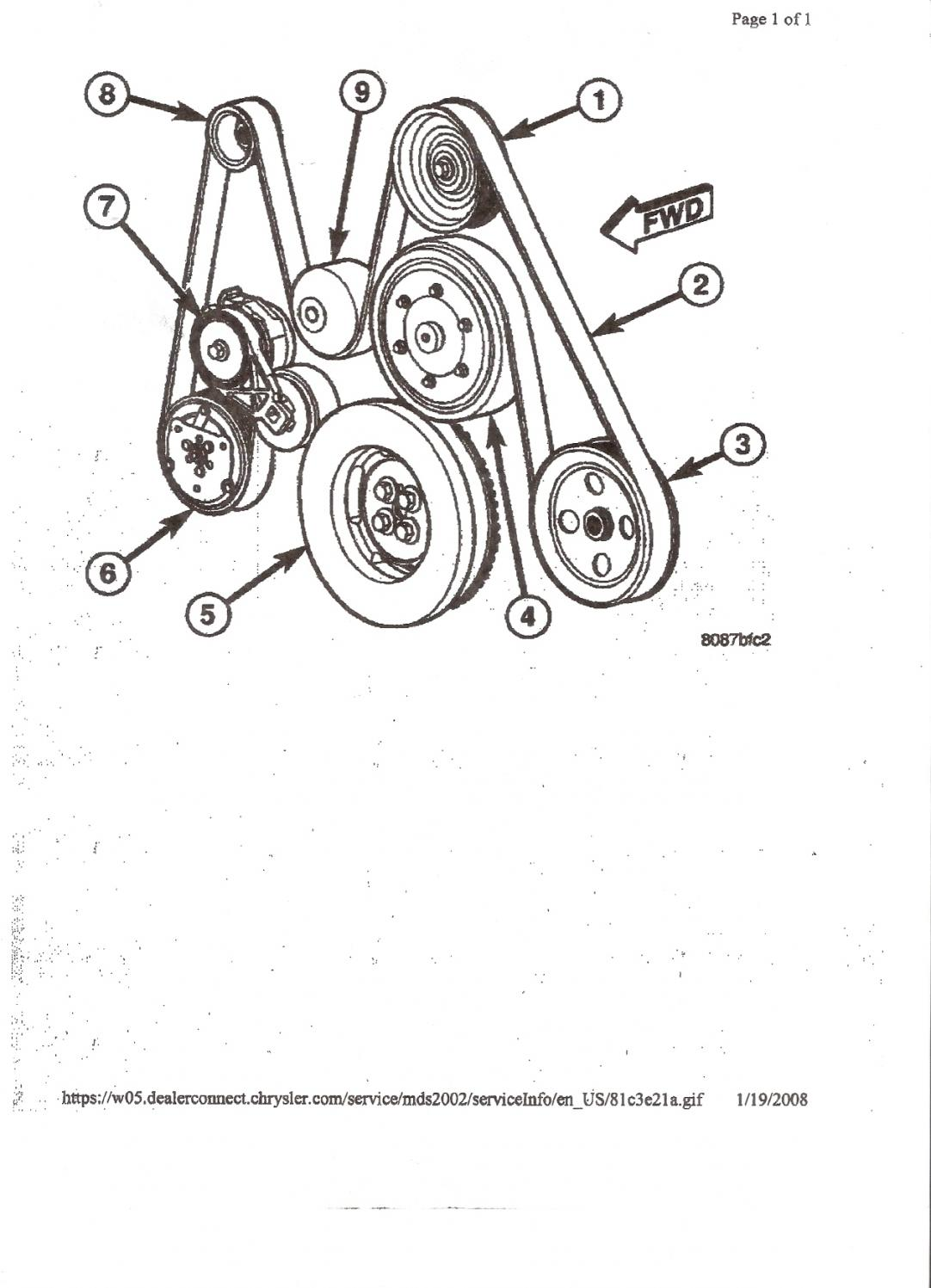 Chevy Truck Belt Diagram
