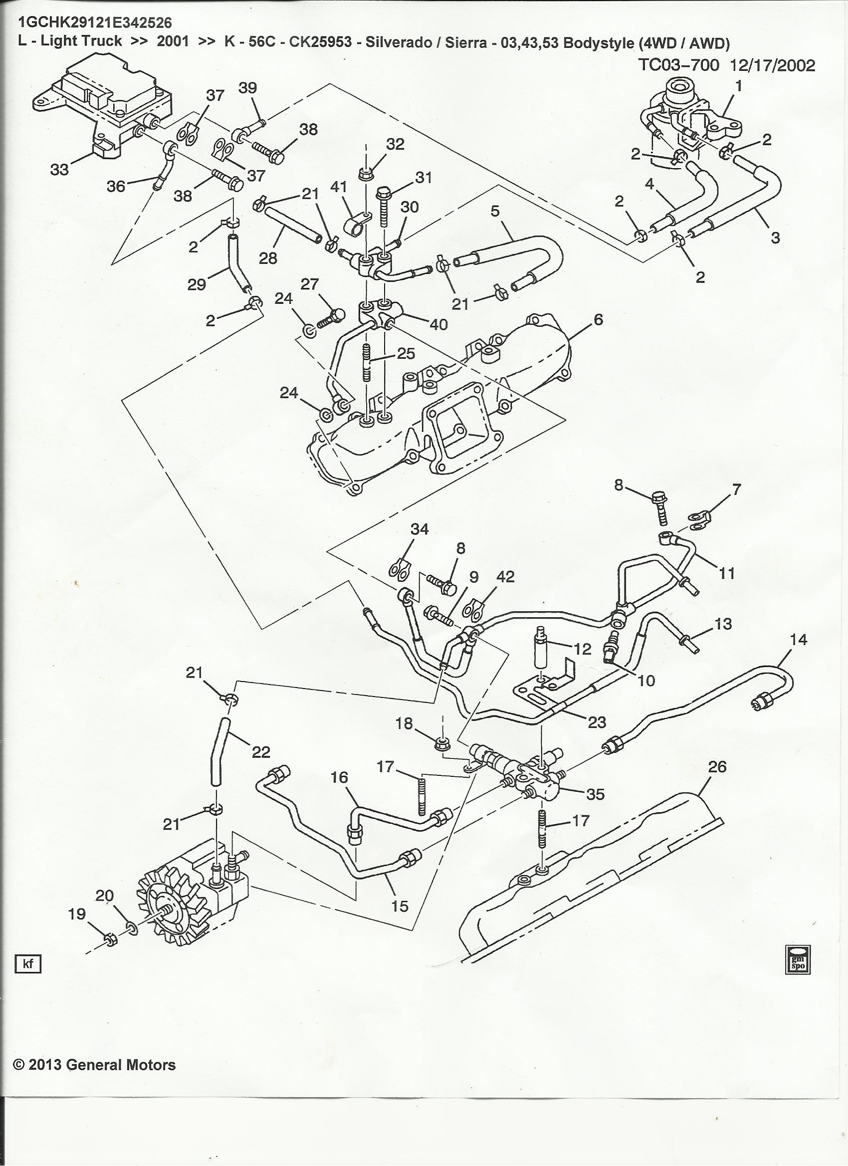3 4 Liter Gm Engine Compartment Diagram