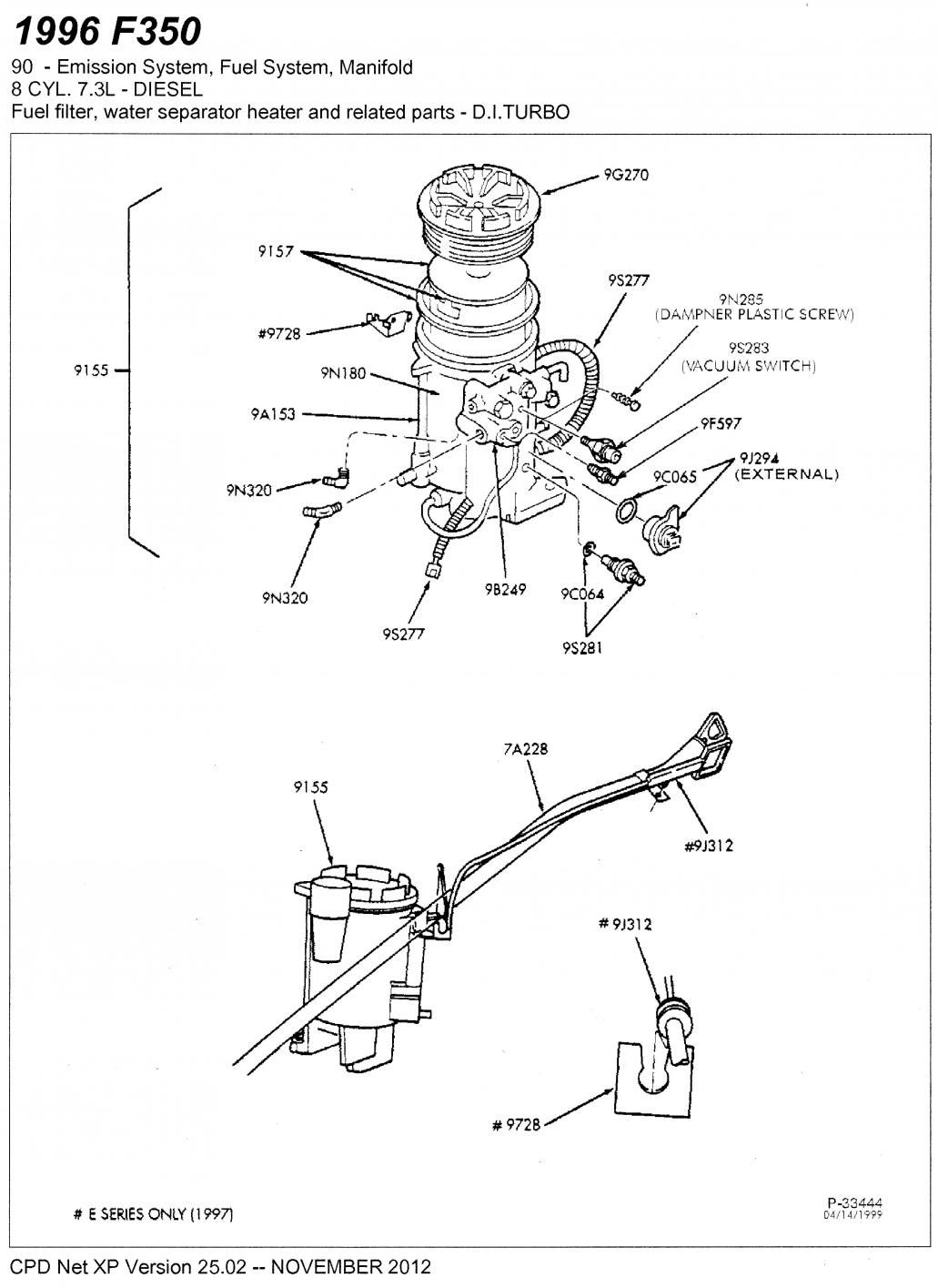 Ford 6 0l Power Stroke Engine