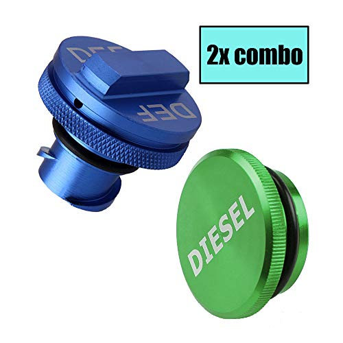 Easy Grip DEF Cap Accessory for Dodge RAM Truck 1500 2500 3500 with 6.7 Cummins EcoDiesel Ronin Factory Combo Pack Magnetic Diesel Fuel Cap 2013-2018
