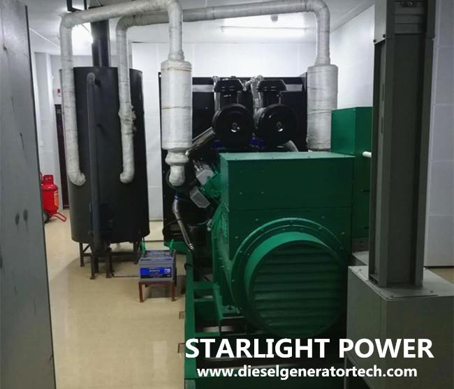 design diesel generator room for