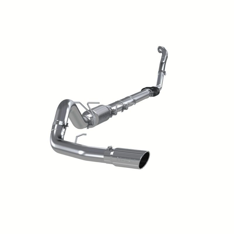 mbrp 4 turbo back single side exit exhaust system 94 97 ford 7 3l powerstroke