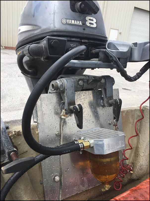 Selsite Marine Outboard Fuel Filter Water Separator