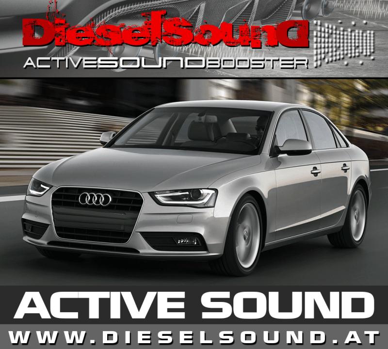 Audi A4 B8 ActiveSound