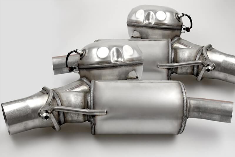 ActiveSoundBooster für Audi A5 (8T) 2.7 & 3.0 V6 TDI - ori. AUDI Bi-TDI Abgasanlage inkl. 2 Soundgenerator & Einbau