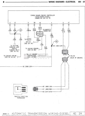 FSM Wiring Diagram Needed 1990 W250  Dodge Diesel