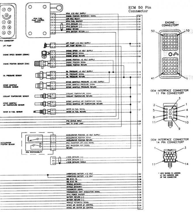 wiring diagrams for 1998 24v ecm  dodge diesel  diesel
