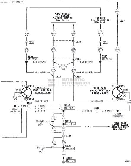 dodge pickup tail light wiring harness   38 wiring diagram