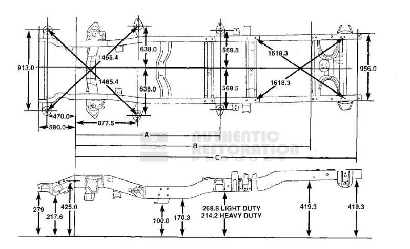 Dodge Ram 1500 Frame Dimensions | Framebob.org