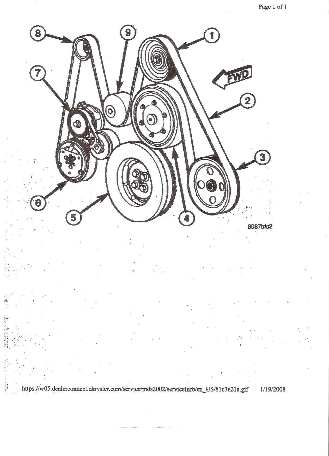 6 6 Duramax Serpentine Belt Diagram