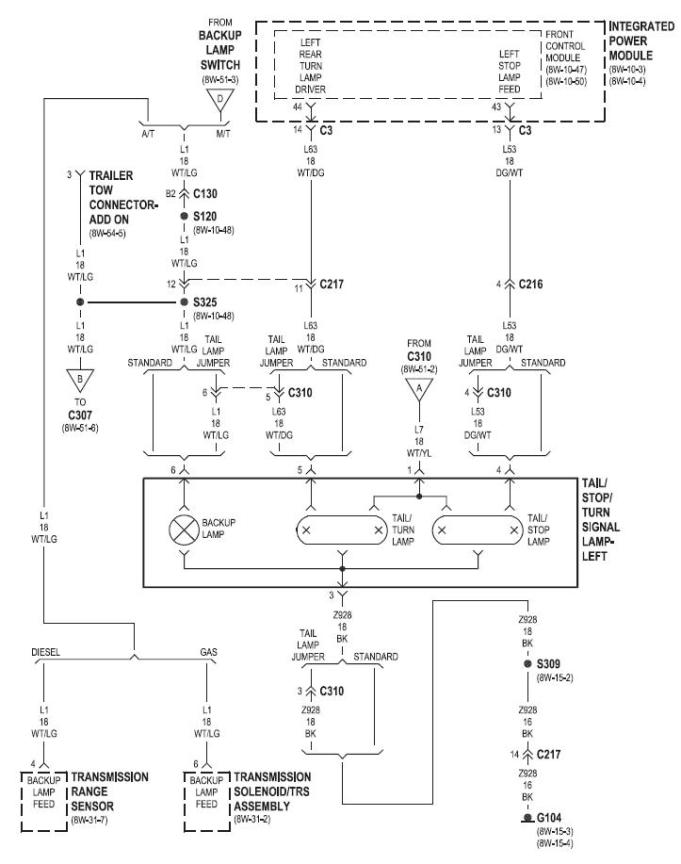trailer rear lights wiring diagram wiring diagram trailer light wiring diagram dodge ram and schematic