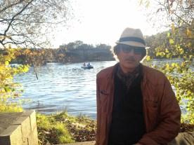Ein Autor in Prag.